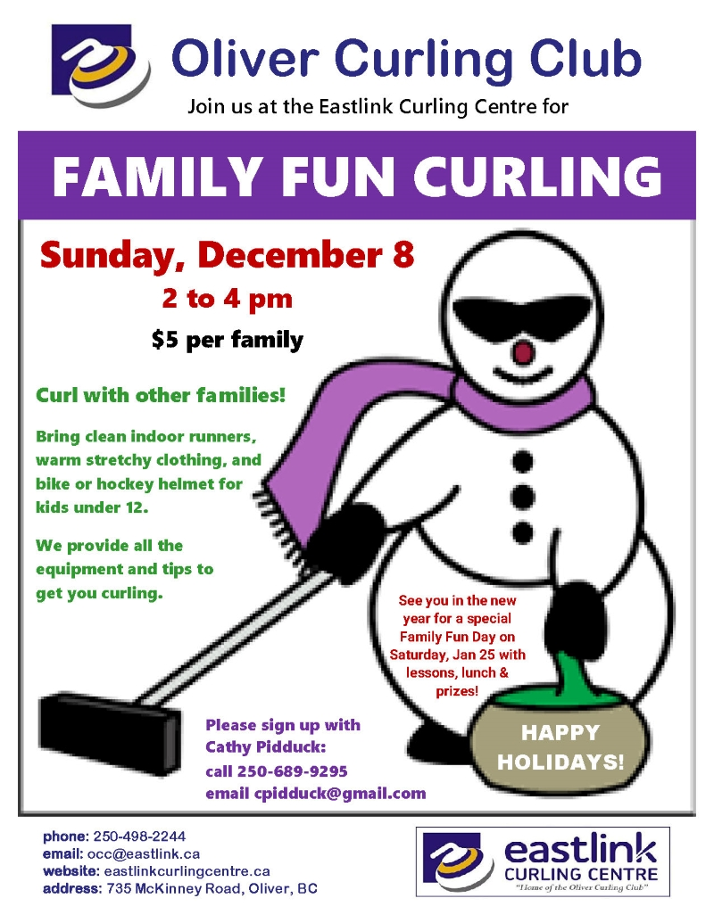 Family Fun Curling Dec 2019